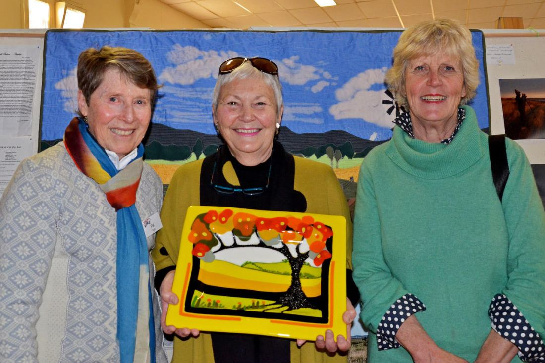 Pat Gabb, Jan Heatherington, Ann Gardner