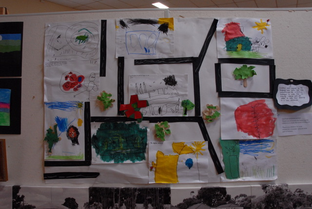 Skipton Childrens Landscape Art